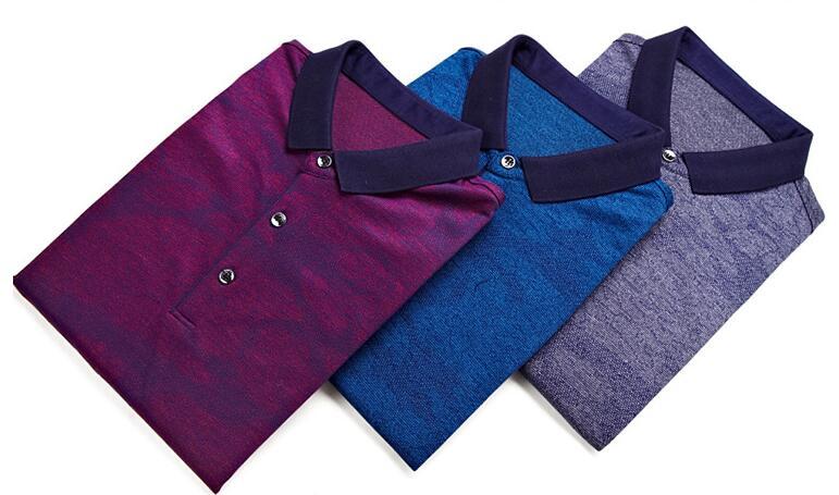 2018 новый дизайн весна многоцветный Для мужчин хлопок футболка с длинными рукавами R1001-R1025