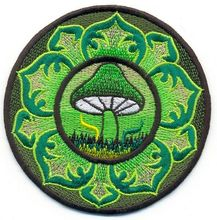 Custom Embroidered Patch hippie embroidered applique iron-on patch factory direct OEM can be customized with your logo design