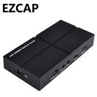 USB 3.0 1080 P HDMI игры Карта видеозахвата Запись два компьютера потокового видео YPbPr AV для PS3 PS4 xbox один Циркулярный