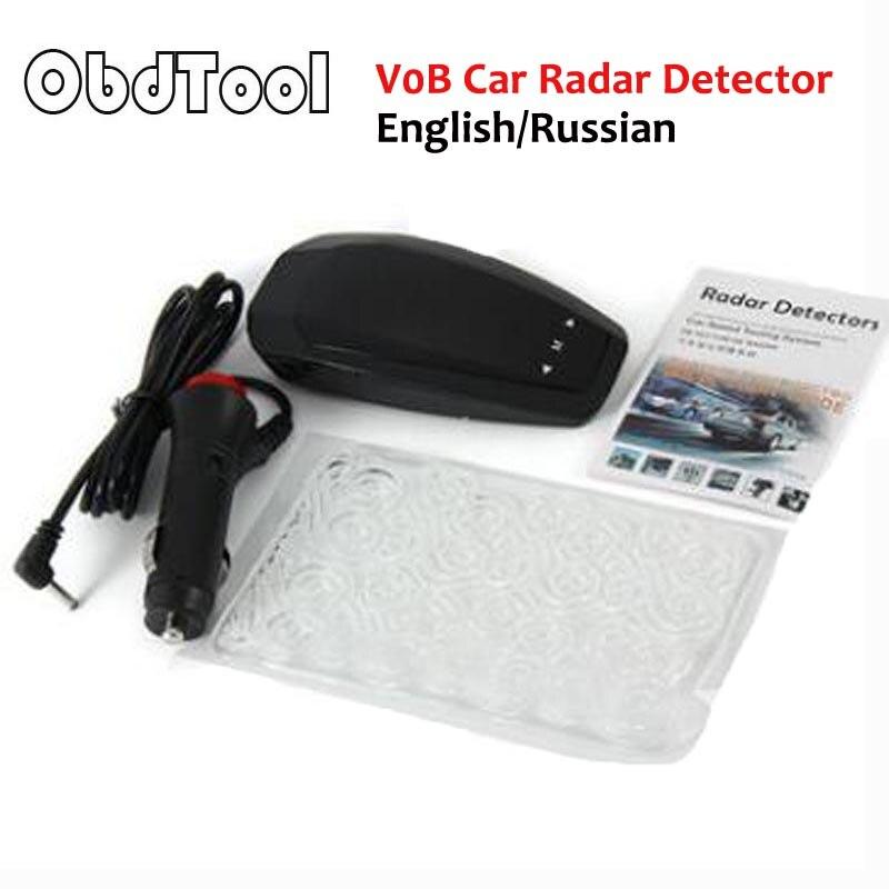Speed Laser GPS VB Alert Electronic Dog Car Radar Detector English and Russian Hiden Led Display Digital