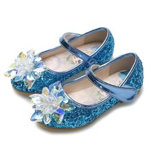 купить Shoes for girls wedding and party fashion leather shoes,low heels girl sandal,little girls and children dancing beautiful shoes по цене 963.29 рублей
