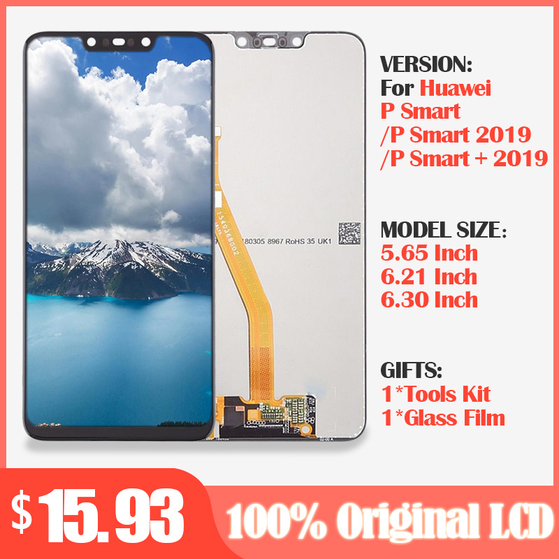 Original Lcd For Huawei P Smart+Plus 2019 LCD Display+Touch Screen Digitizer Assembly LCD Display For Huawei P Smart 2019 Screen
