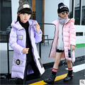 Hot Selling high quality girl's clothes  Long coat  2016 new autumn and winter  Fashion children  The princess warm jacket