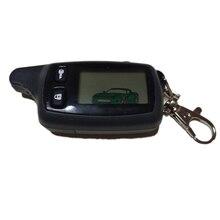 50 Pcs/Lot TW9010 LCD télécommande porte clés porte clés pour TOMAHAWK TW 9010 système dalarme de voiture bidirectionnel TOMAHAWK TW 9010