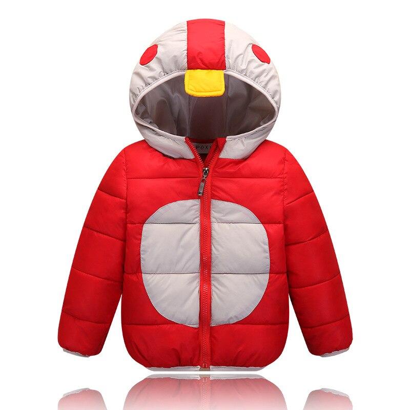 Hot Sale Children Warm Coat Girls Boys Coats Hooded High Quality Patchwork 2016 Kids Outerwear Cotton Padded Girls Boys Snowsuit