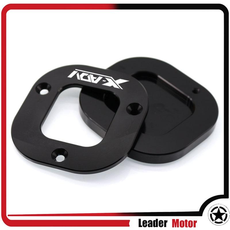 Ständer seitenständer stehen erweiterung enlarger pad motorrad zubehör Für HONDA X-ADV XADV 2017 NC750X NC 750X2016 2017