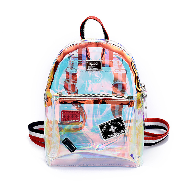 Detail Feedback Questions about 2018 New Transparent Backpacks Small PVC  School Bag For Teenagers Girl Holographic Backpack Laser Women Bags on ...