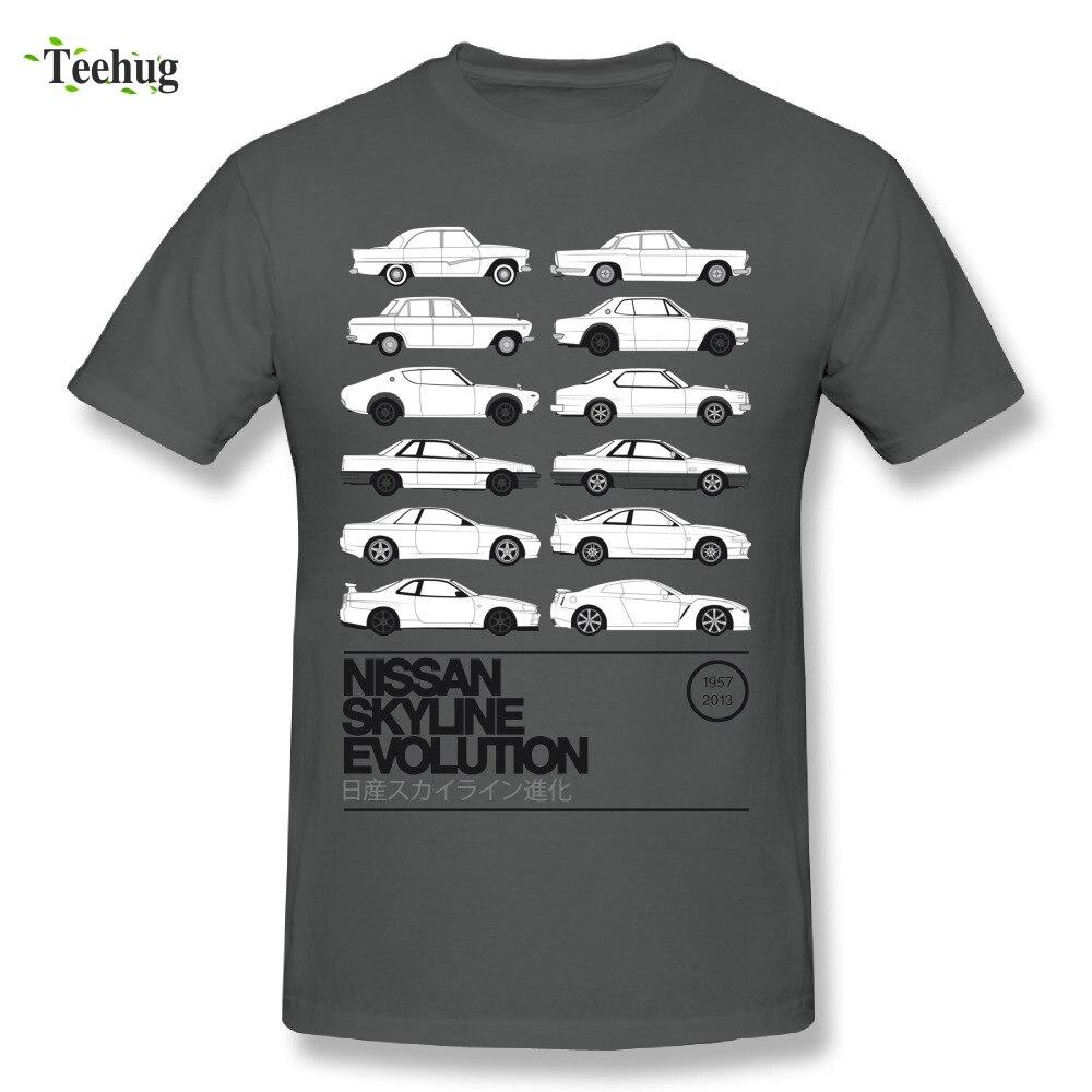 Hommes impressionnants de Skyline L'histoire T-shirt Doux Et Confortable Coton Voiture RTM T-Shirt