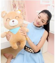 about 40cm cartoon bear plush toy doll soft bear throw pillow toy birthday present Xmas gift c863