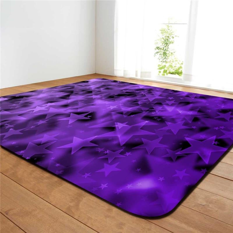 Style européen maison Textile lavable tapis Rectangle grande taille solide chambre salon Yoga tapis enfants bébé jouer tapis