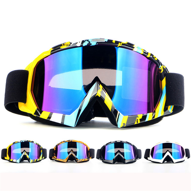 f68d2b5a888 New Ski Snowboard Motorcycle Dustproof Sunglasses Goggles Lens Frame Eye Glasses  Outdoor Glasses Aocessories High Quality Oct 19