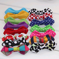 100pcs/lot Brand new butterfly gravata party bowtie wedding bow tie for boys candy color dot pattern bowknot for children