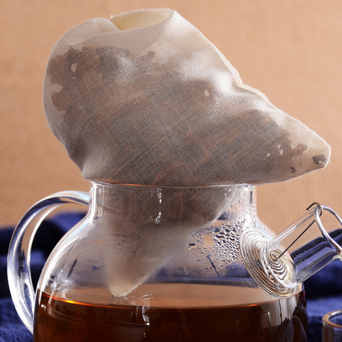 20pcs Tea Bags for Tea Bag Infuser with String Heal Seal Sachet Filter Kitchen Gadgets Multan