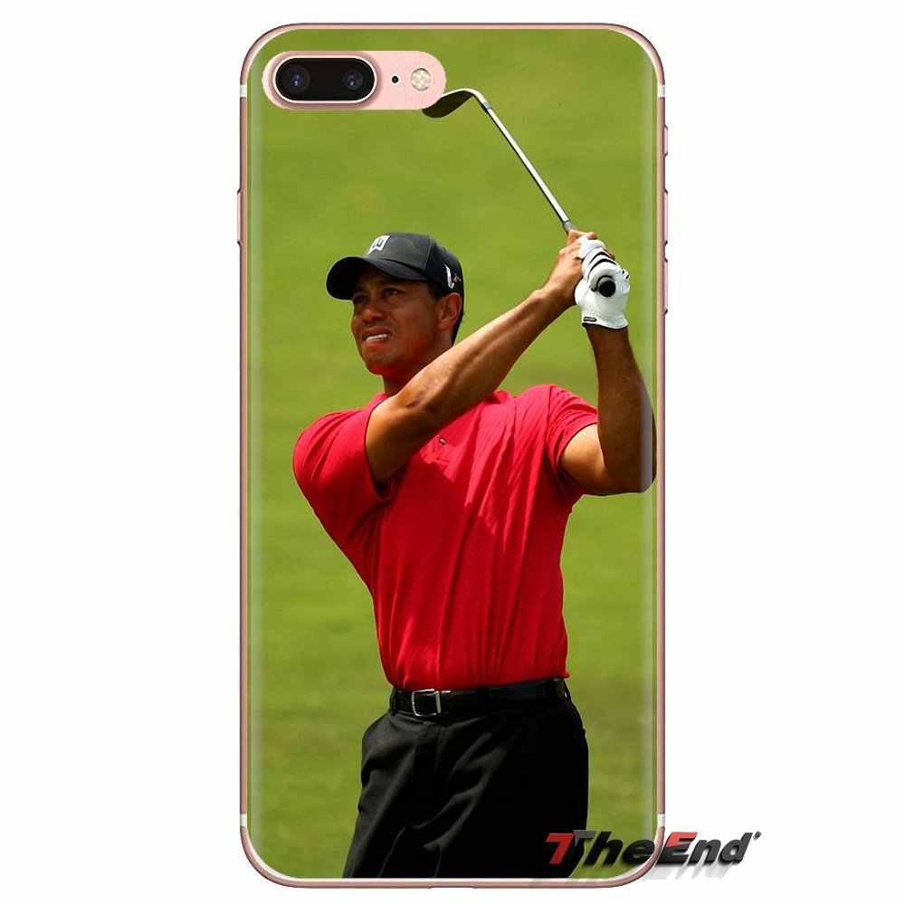 Cubiertas transparentes suaves de la estrella del Golf del bosque del tigre de Eldrick para Xiaomi Redmi 4A S2 Note 3 3 3S 4X5 Plus 6 7 6A Pro teléfono móvil F1