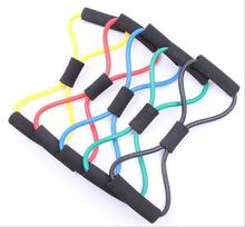 The new high-quality materials, 8 word chest pull rope chest expander, yoga supplies fitness equipment