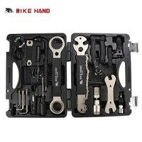 Велосипед ручной 18 в 1 ремонт велосипедов Инструменты Kit Box Set мульти MTB шин ремонт цепи инструменты говорил ключ комплект шестигранная Отвер