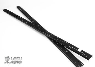 лучшая цена LESU Metal Chassis Rail CNC for 1/14 RC Model Bz 8*8 Hydraulic Dumper Truck