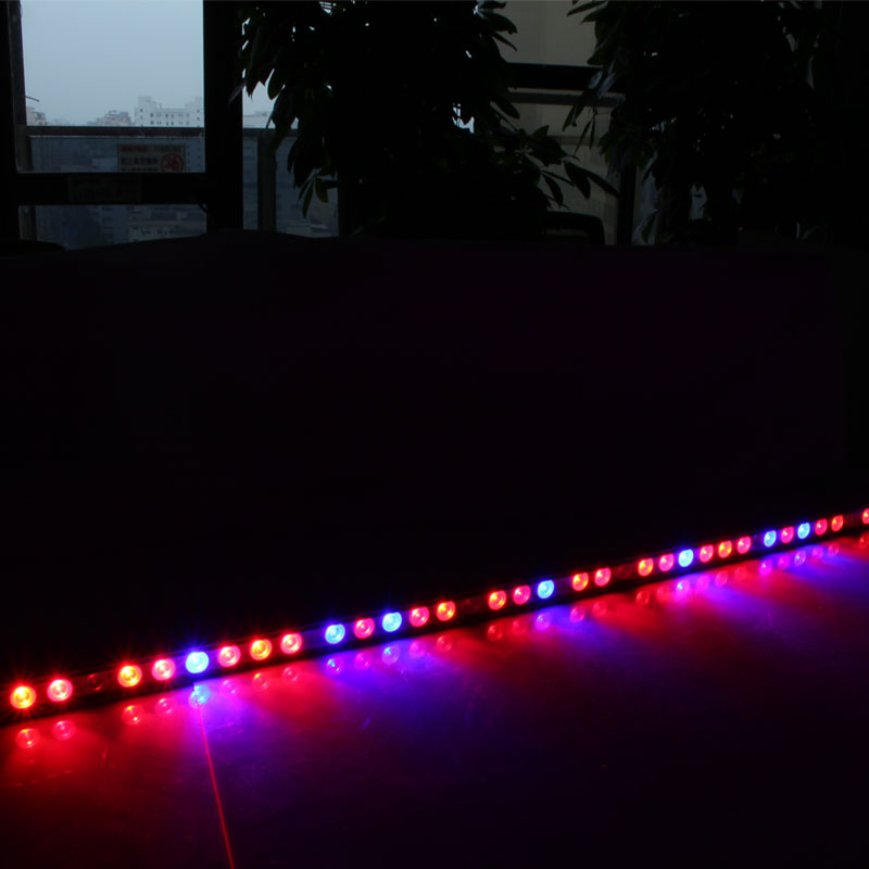 Commercial Greenhouse Led Grow Lights: 108W Waterproof UV IR Led Grow Light Bar For Greenhouse