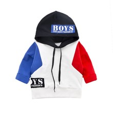 Купить с кэшбэком Kid's Clothing Boys Coat Jackets Cool Boys Coat Fashion Hoodie Long Sleeve Outerwear Clothes