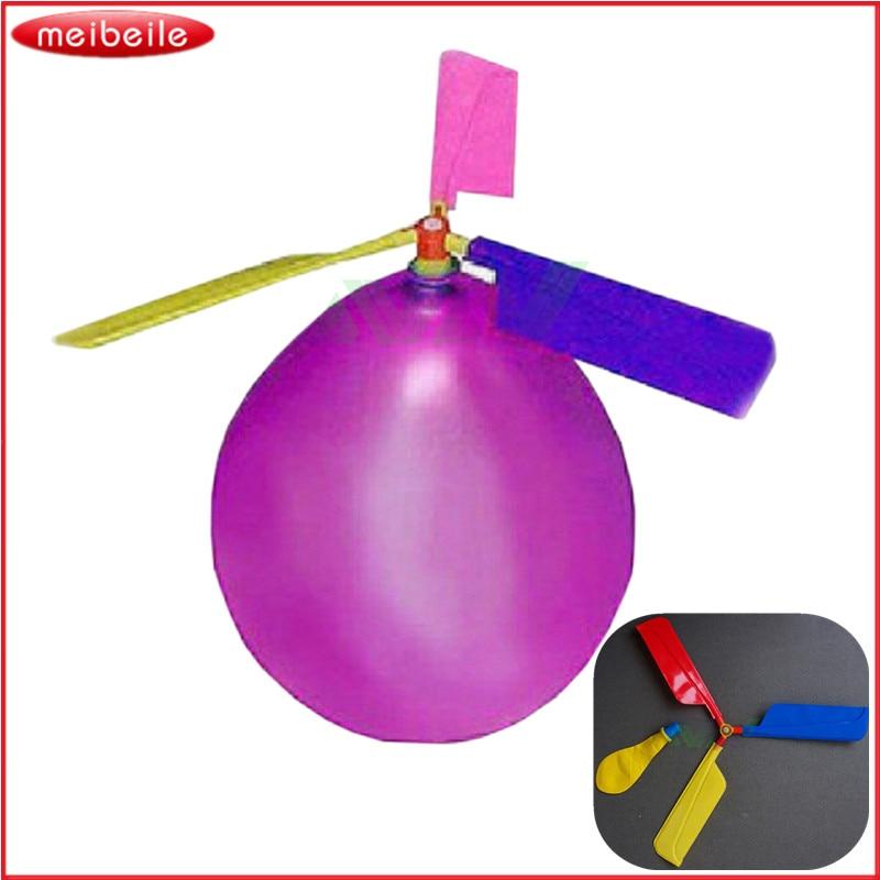 التقليدية الكلاسيكية بالون طائرة هليكوبتر للأطفال الطفل حزب حقيبة حشو الطائر لعبة هدية في الهواء الطلق لون عشوائي