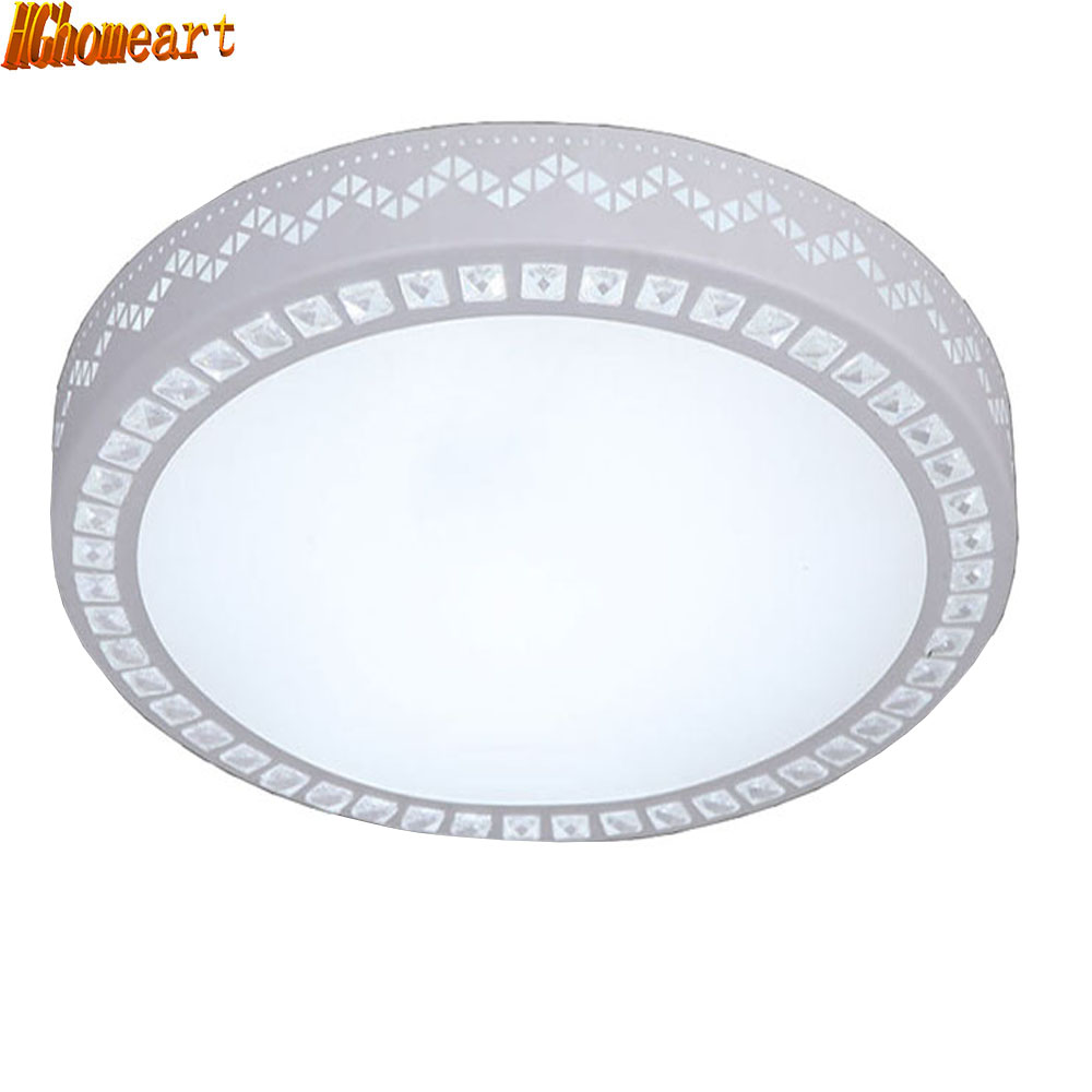 Modern Simple Round Led Ceiling Lamp Living Room Lamp Bedroom Lighting Fashion Energy Saving Ceiling Lamp