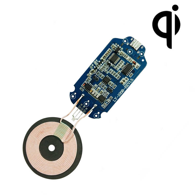 Fast Charging Wireless Charger Launch Module PCBA IDT TI Universal Wireless Charging DIY Circuit Board Scheme Qi