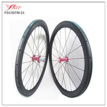 Chris King hubs Sapim cx-ray spokes cycling wheelset Toray carbon road bike wheels 50mm tubular wheels 20.5mm 23mm 25mm widths