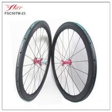 Chris King hubs Sapim cx-ray spokes cycling wheelset Toray carbon road bike wheels 50mm tubular wheels 20.5mm 23mm 25mm widths