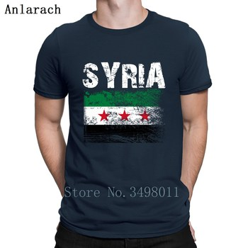 Syria T Shirt Personalized Short Sleeve Round Neck Cool Cute Breathable Spring Autumn Letters Men t-Shirt modish rose letters printing round neck short sleeves 3d t shirt suits for men t shirt shorts