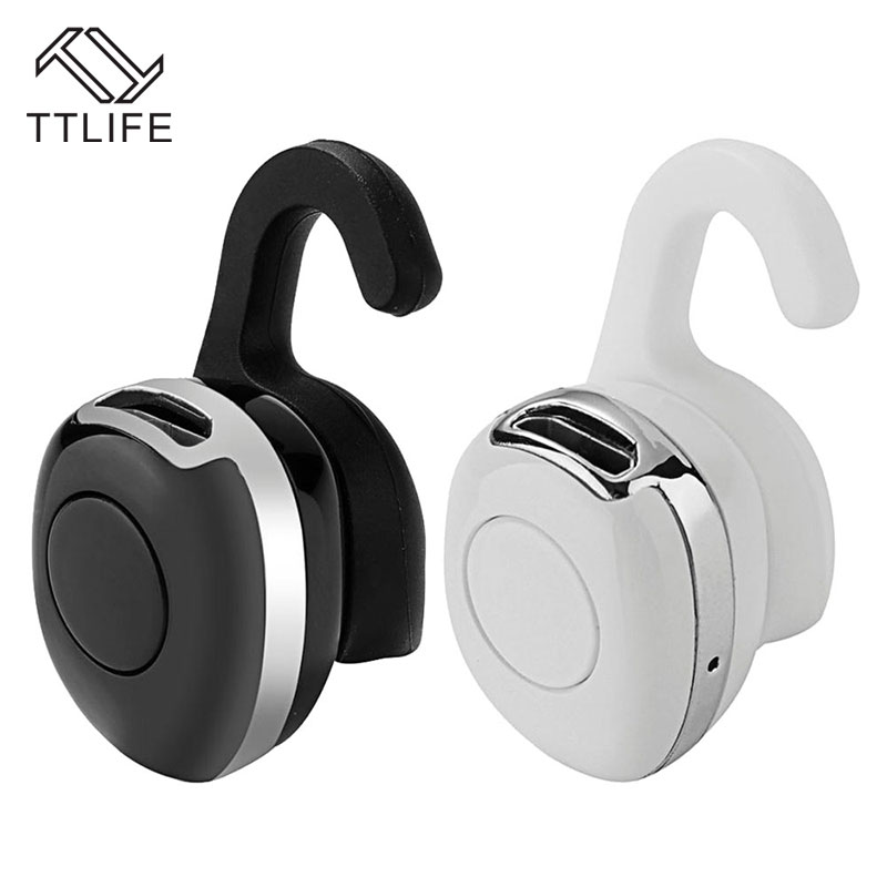 Ttlife Mini Bluetooth Earphone Wireless Stereo Headphones Ultra Small Music Headset Earbud With Microphone For Phones Samsung Earbuds With Microphone Headset Earbudsmini Headset Bluetooth Aliexpress