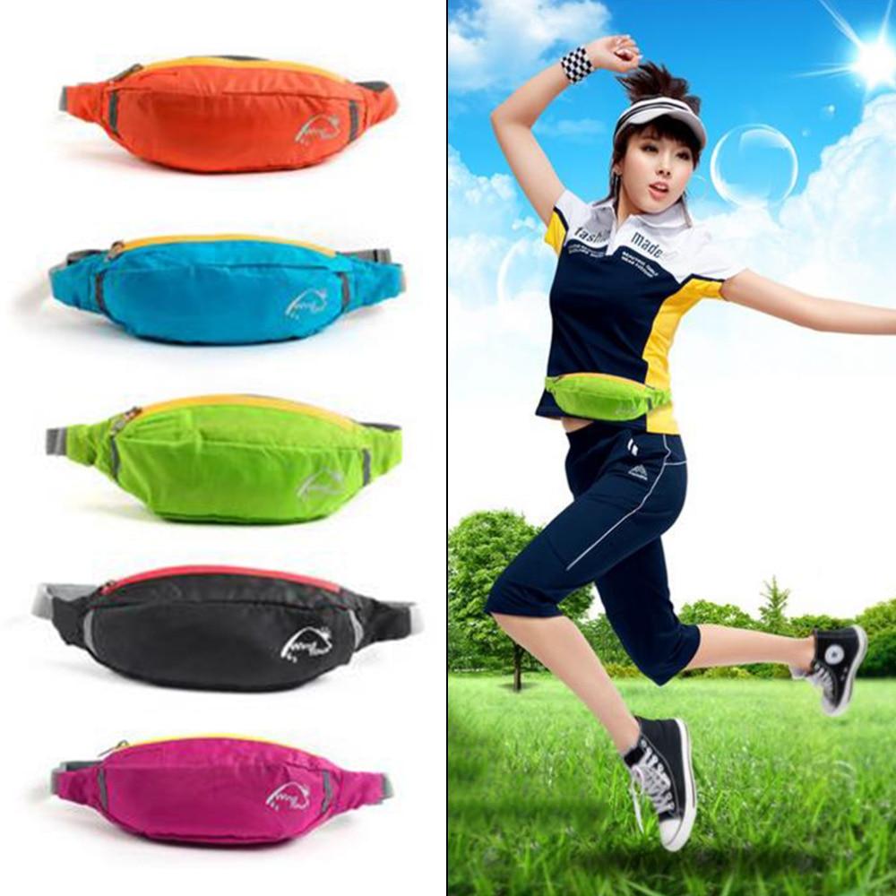 2017 Unisex Running Waist Bag Travel Handy Hiking Sport Waist Belt Zip Fanny Pack Running Bag Hot Sale