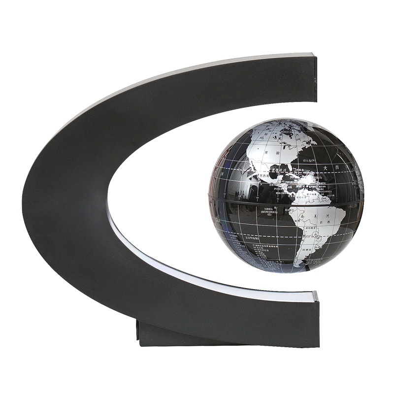 1Pcs Home Decoration Magnetic Levitation Floating Teach Education Globe World Map Decor Santa Gift US/EU Plug