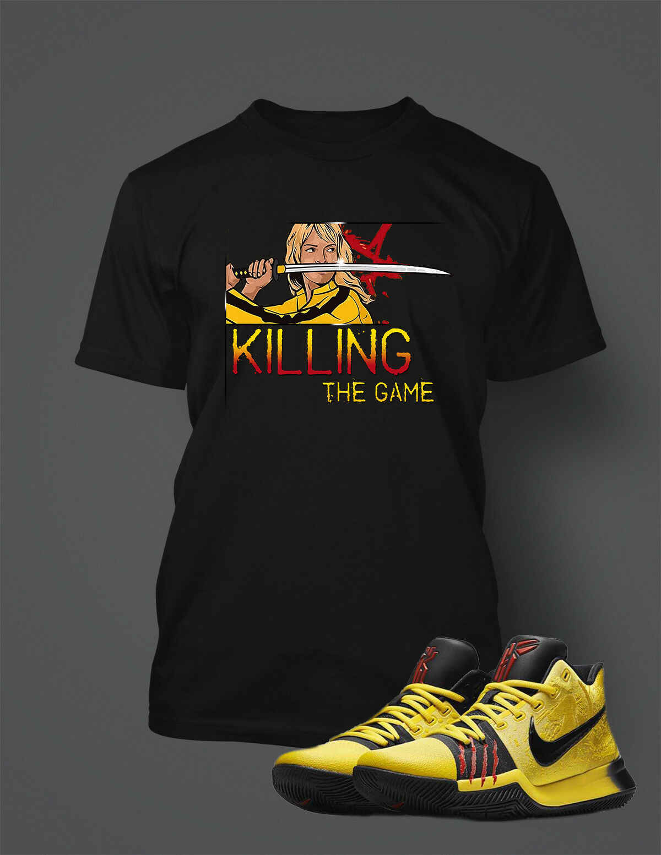 Футболка в тон KYRIE 3 Брюс Ли обувь мужская Killing игровая графика Pro Club t