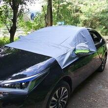 Neve carro Brisas Covers Fit Para Quatro Estações Para VW Polo Golf Para KIA Rio Para Hyundai Solaris