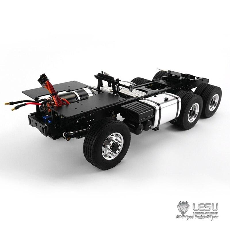 1/14 camion Scania R620 R470 entraînement complet 6X6 châssis en métal cadre à couple élevé modèle électrique LS-20130011-B RCLESU Tamiya tracteur
