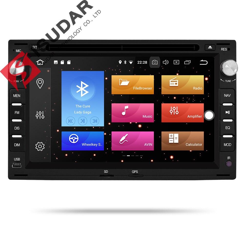 9 2 Isudar Reprodutor multimídia Carro Android Din Sistema De Som Para VW/Volkswagen/Passat/Golf/Skoda octa Núcleo 4GB RAM Wifi USB DVD