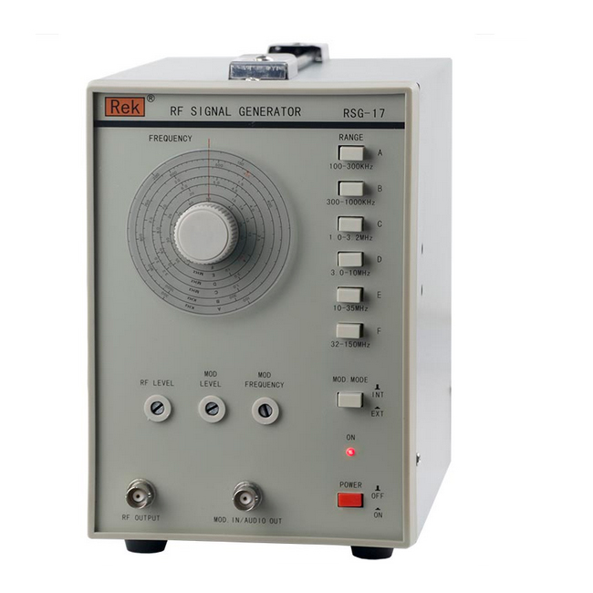 RSG 17 high frequency signal generator 100KHz 150MHz suitable for production line and maintenance