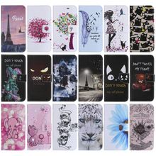 Cute Flip Leather Case For Samsung Galaxy Core Prime G360 G361 Grand Grand J2 Prime G530 G531 G532F Cat Tree Eye Cover Capa P06Z цена 2017