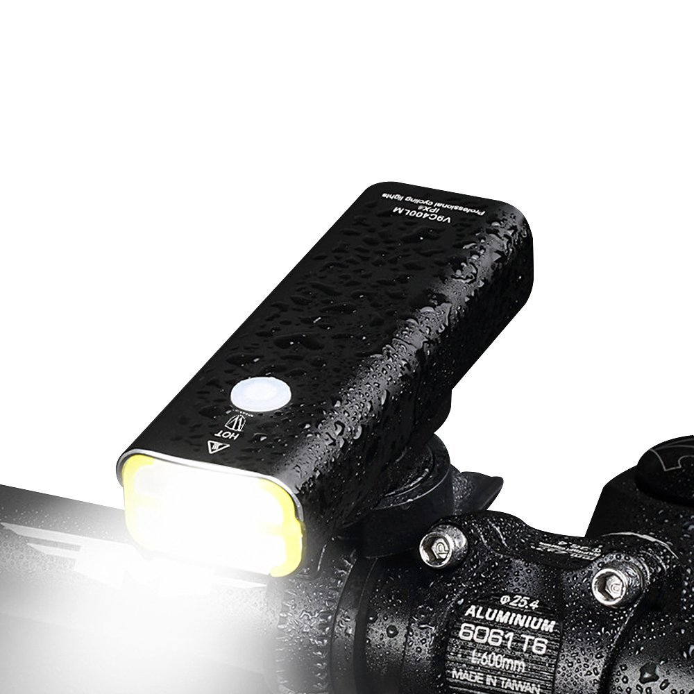 ThorFire Super Bright LED USB Waterproof Rechargeable Bike Light Bicycle Front Light
