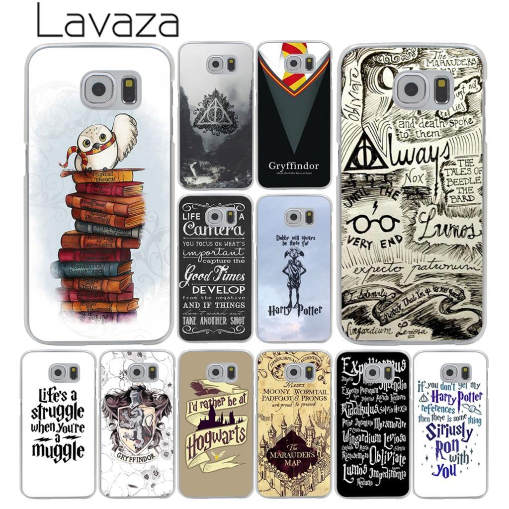 Lavaza always Harry Potter Deathly Hallows Hard Transparent Phone Case for Samsung