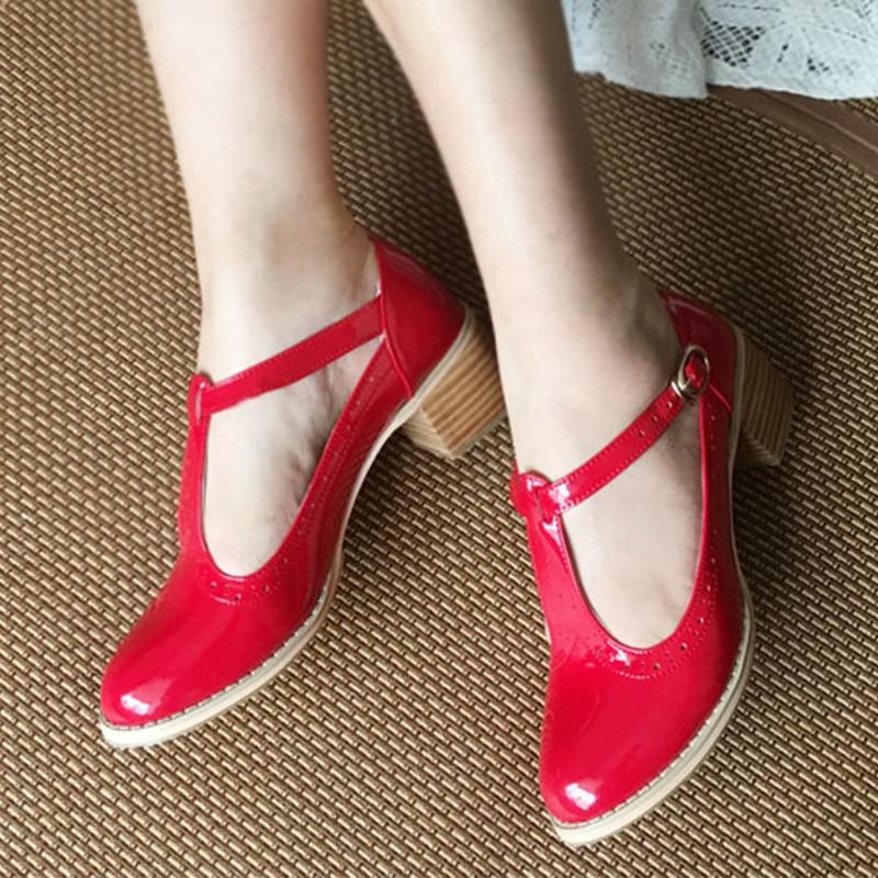 Kobiety sandały oxford buty w stylu vintage oryginalne skórzane szpilki gladiator oksfordzie lato sandały na platformie dla kobiet kapcie 2019 w Średni obcas od Buty na AliExpress - 11.11_Double 11Singles' Day 1
