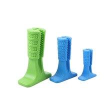 Зубная щетка для собак Pet Dogs щеточная палочка игрушки-Жвачки очиститель зубов для Собачка Щенок уход товары для домашних животных