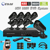 8CH IR Day Night Vision Outdoor Waterproof Surveillance CCTV Camera Kit Home Security 8ch Full D1cctv
