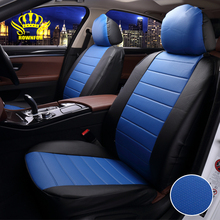 Luxury PU Leather Auto Universal Car Seat Cover Automotive car seat covers for car corolla golf prius prado cruiser tiggo eva