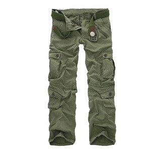 Image 5 - Mountainskin 男性の軍事マルチポケットパンツ屋外戦術的な緩いズボンハイキングキャンプ釣りクライミングブランド VA271