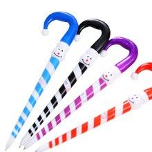 30 adet/grup yenilik kawaii şemsiye kardan adam tükenmez kalem noel için en iyi hediyeler okul yazma ofis malzemeleri toptan