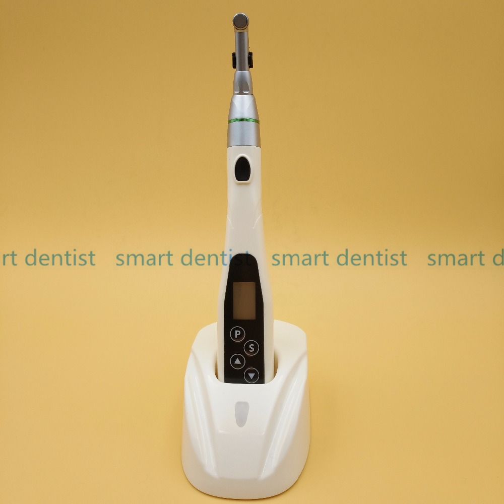 Good  Quality Dental Cordless Endo Motor with LED light Treatment +16:1 Reduction Contra Angle lyncmed endodontic treatment wireless endo motor handpiece surgical brushless motor reciprocating cutting mode