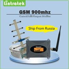 65dB 2G GSM Signalverstärker GSM 900 mhz Handy Signal Booster Verstärker Vollen Satz mit LCD display Yagi/peitsche Antenne + 10 Mt Kabel