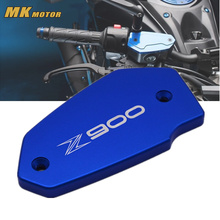 NEY Motorcycle Accessories Motorbike CNC Brake Fluid Tank Cap Cover For Kawasaki Z900 Z 900