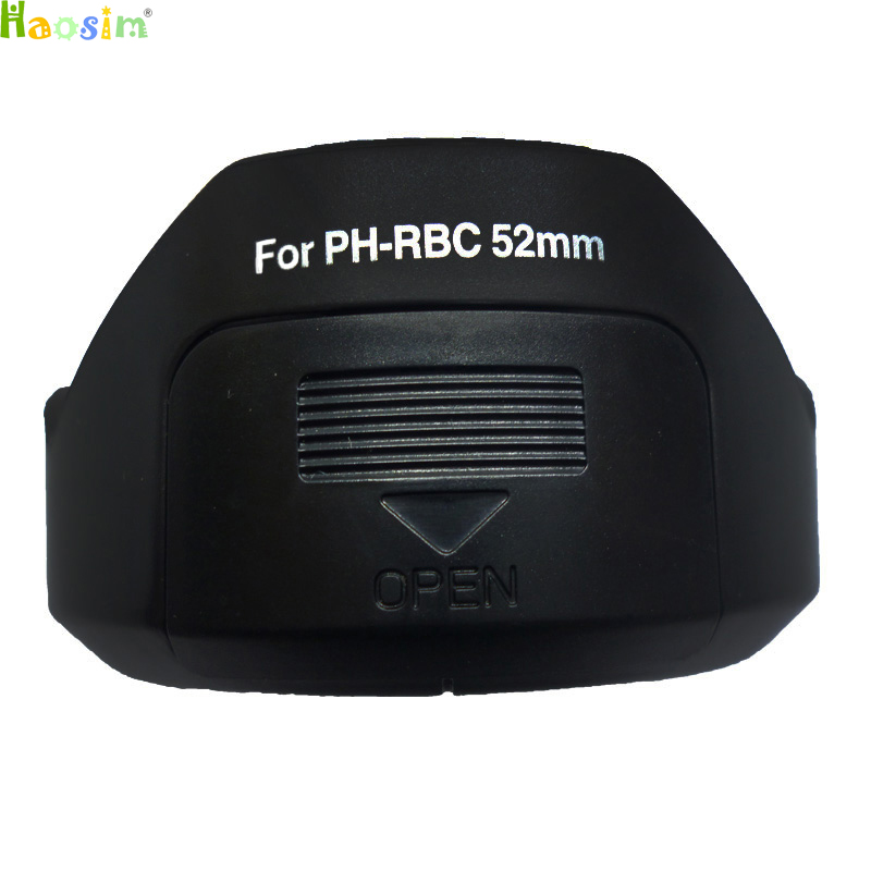 For PH-RBC <font><b>52MM</b></font> LENS <font><b>HOOD</b></font> SHADE FOR Pentax smc DA 18-55mm F3.5-5.6 AL WR Lens replace image